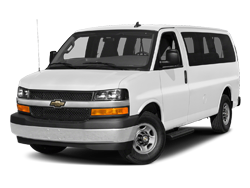 New Chevrolet Express Passenger Van Photo