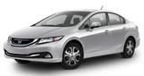 Photo of a Honda Civic Hybrid