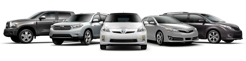 ToyotaCare vehicle lineup